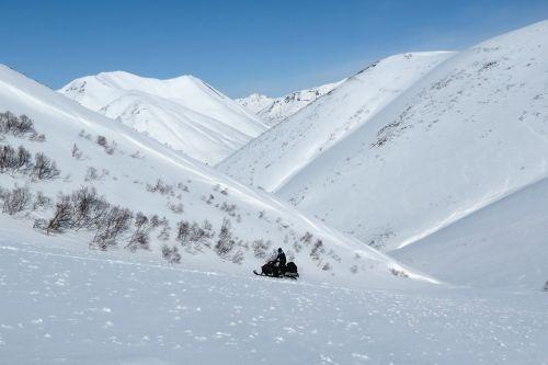 mountains valley ridge