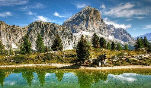 mountains  dolomites  italy