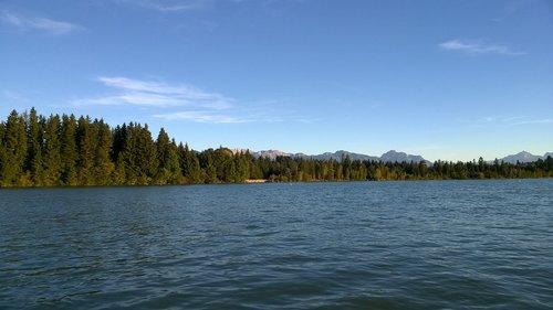 mountains  allgäu  lake