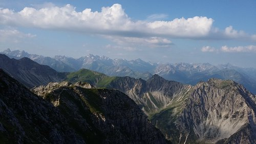 mountains  allgäu  resolutions of the head