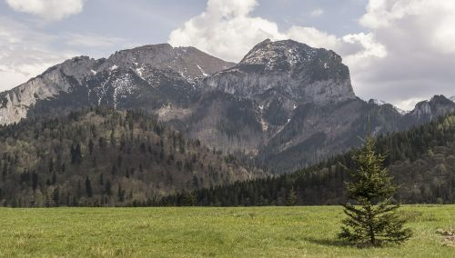 mountains tatry nature