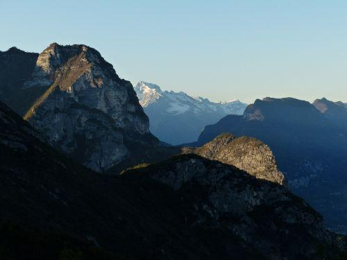 mountains garda garda mountains