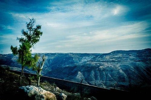 mountains  jordan  amman
