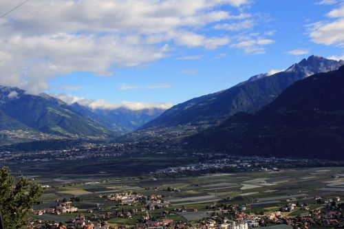 mountains zillertal view