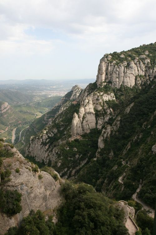 mountains spain montserrat
