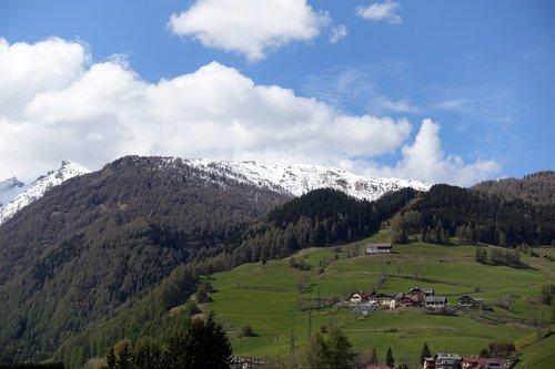 mountains  tauern  landscape