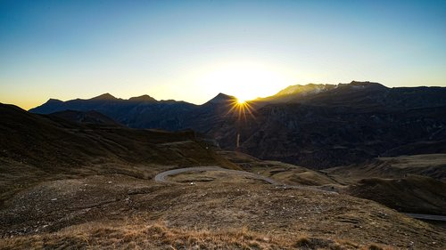 mountains  grossglockner  alpine road