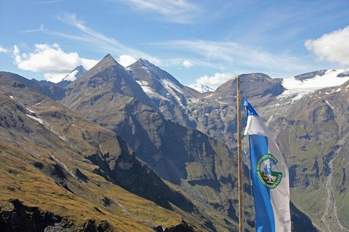 mountains  grossglockner  high alpine road