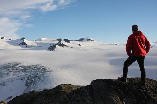 mountains  climber  peak