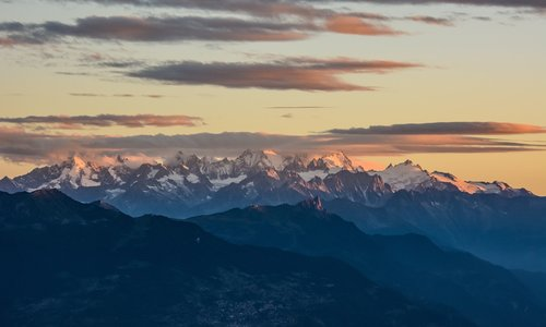 mountains  landscape  sky