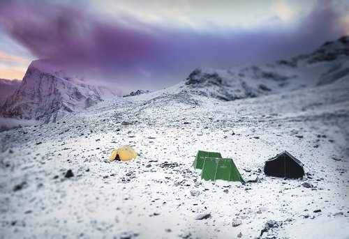 mountains  mountaineering  tents