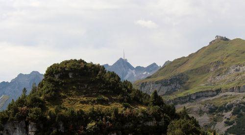 mountains alpine swiss alps
