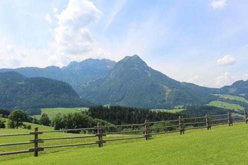 mountains alpine pasture