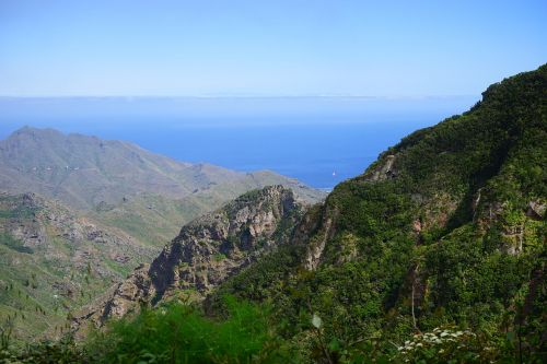 mountains viewpoint canary islands