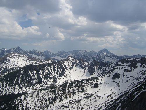 mountains landscape tatry
