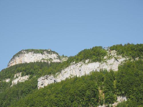 mountains alpine cable car