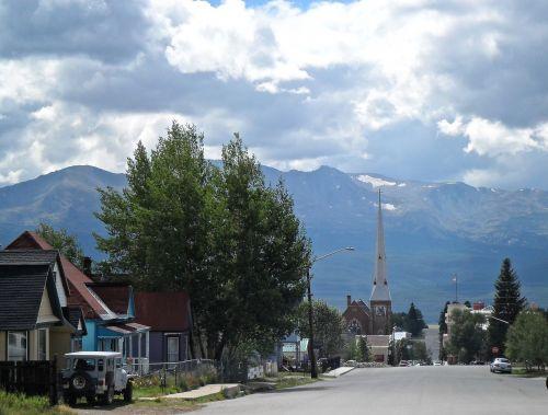 mountains street travel