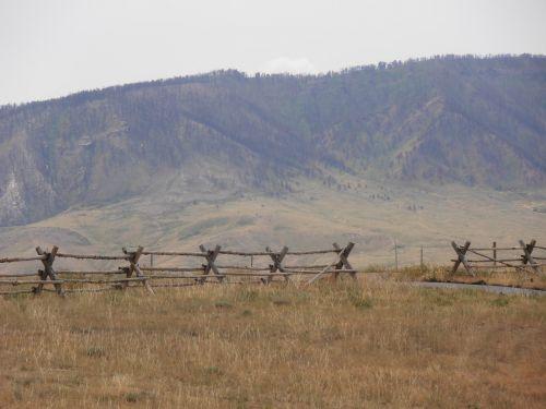 mountains range ranch