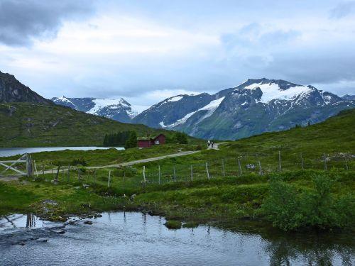 mountains norway scandinavia