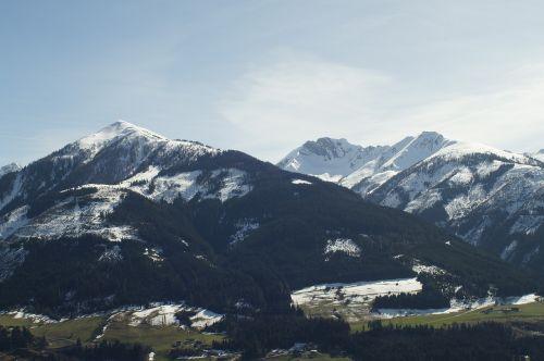 mountains landscape outlook