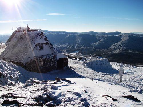 mountains landscape winter