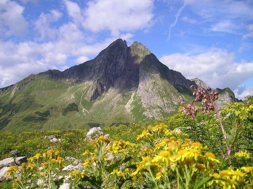 mountains höfats allgäu