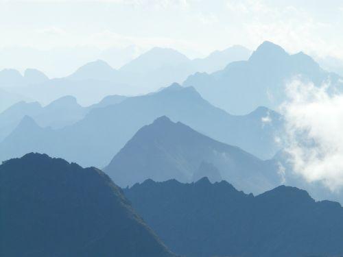 mountains summit mountain summit