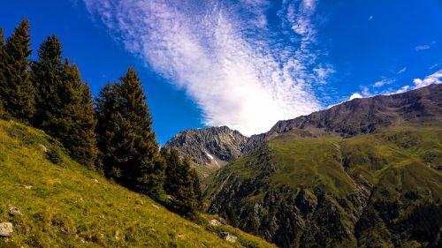 mountains mountain panorama alpine