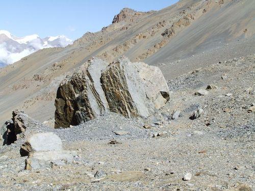 mountains rock himalayan