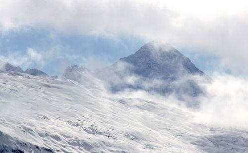 mountains snow alpine