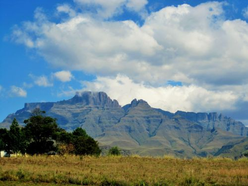 Mountains In Distance, Drakensberg