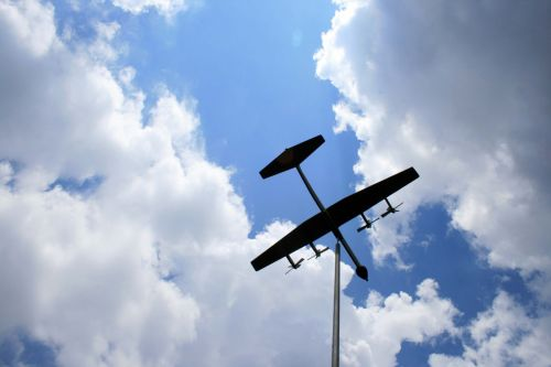 Mounted Model Airplane