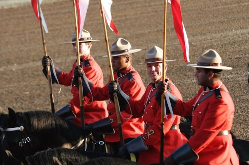 mounted police rcmp canadian