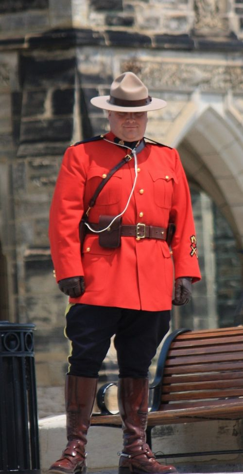 mountie officer royal canadian mounted police