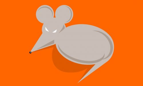mouse illustration vector