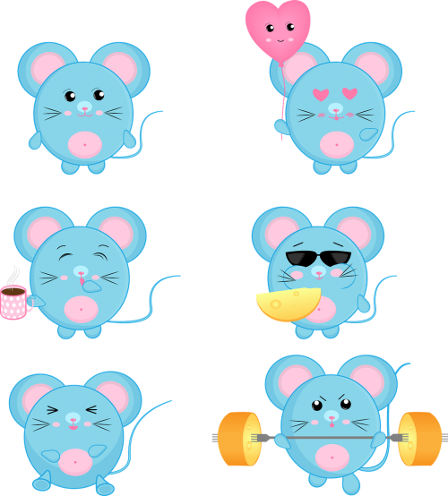 mouse rat cute
