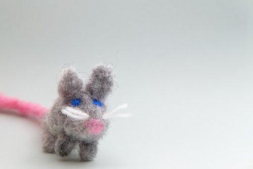 mouse  animal  felt