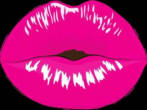 mouth makeup kiss