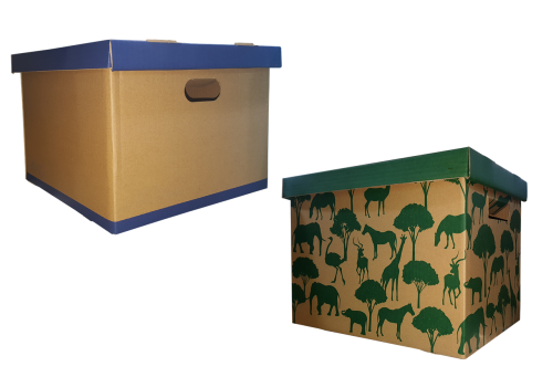movable box carton