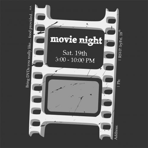 movie movie night ticket