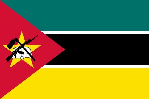 mozambique africa flag