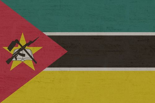 mozambique flag south east africa