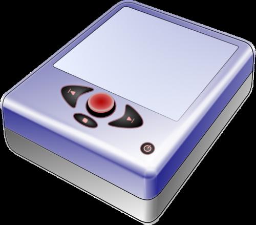 mp3 player handheld