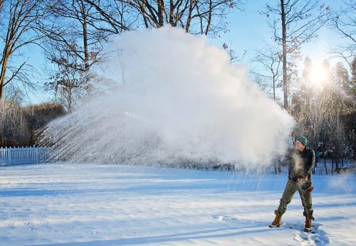 mpemba effect winter snow