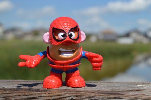 mr potato head spiderman