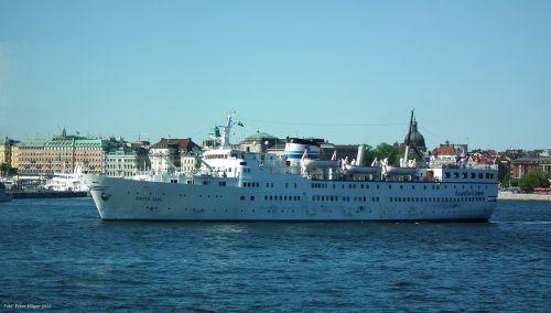 M / S Birger Jarl In Stockholm