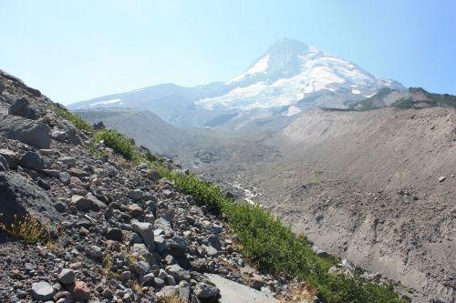 mt hood hiking mountain