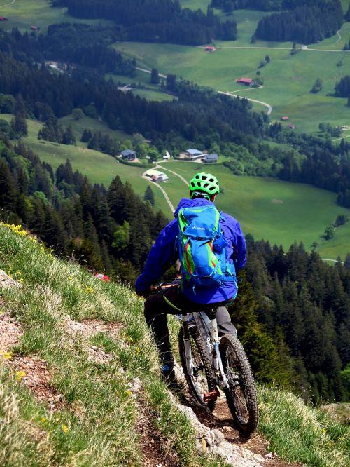 mtb mountain bike biker