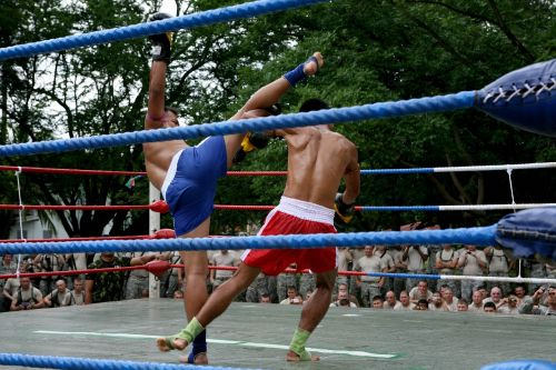 muay thai demonstration competition