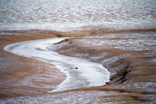 mud flats eb tide thames estuary